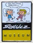 Patty & Violet Jumping Rope Charles M. Schulz Museum Pin