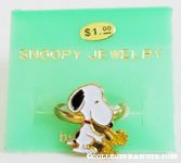 Snoopy & Woodstock shaking hands Ring