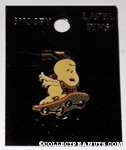 Snoopy skateboarding Pin