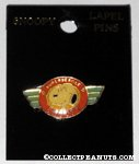 Snoopy Superbeagle Winged Crest Pin
