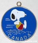 Snoopy long jumper 'Canada' Pendant