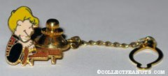 Schroeder playing Piano Tie Tack