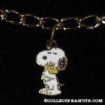 Snoopy hugging Woodstock Charm Bracelet