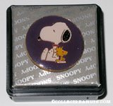 Snoopy & Woodstock sitting Purple Ring