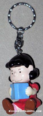 Peanuts Plastic Figural Keychains | CollectPeanuts com