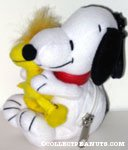 Snoopy Hugging Woodstock Clip & Coin Purse