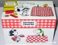 Peanuts Recipe Box
