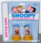 Peanuts & Snoopy Bottle Caps