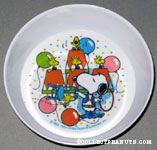 Snoopy Circus Lion Tamer with Woodstocks Bowl