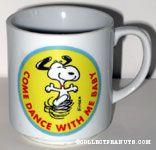 Snoopy dancing 'Come Dance with Me'  Mug