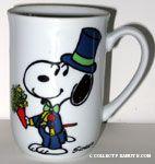 Snoopy as Groom Mug