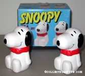 Snoopy Sitting Salt & Pepper Shaker Set