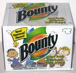 Bounty Paper Towel Box