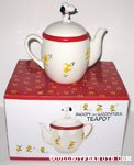 Snoopy and Woodstock Teapot