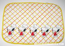 Chef Snoopy Fabric Placemat