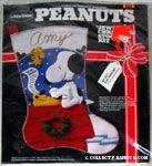 Peanuts & Snoopy Felt Stitchery Kits