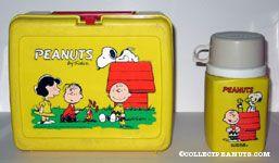 Peanuts Gang Roasting hotdogs Lunch Box