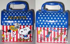 Stars and Stripes Lunch Box
