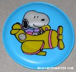 Snoopy flying yellow plane Magnet