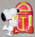 Snoopy dancing at Jukebox Magnet