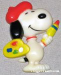 Snoopy artist Magnet