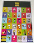 Peanuts through the decades 60th Anniversary Magnet Sheet
