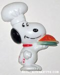 Chef Snoopy with Pie Magnet