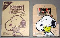 Snoopy hugging Woodstock Letter Box