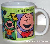 Peanuts Gang Cheering Mug
