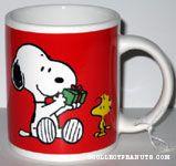 Snoopy with Gift Mug