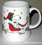 Snoopy and Woodstock Sled