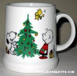 Snoopy and Charlie Brown Decorating Tree