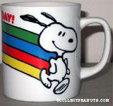 Snoopy with Rainbow