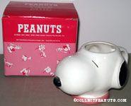 Snoopy head figural mug
