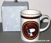 Snoopy baseball Emblem Mug