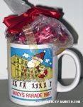 Macy's Parade 1987 Mug with Candy