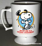 Snoopy dancing Mug