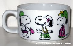 Snoopy in native costumes
