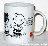 Charlie Brown & Marcie dancing Mug