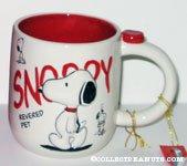 Snoopy 'Revered Pet' Mug