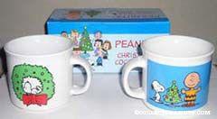 Peanuts Christmas Cocoa Mugs