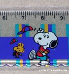 Snoopy & Woodstock throwing hats in air ruler