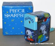Peanuts Gang in Space pencil sharpener