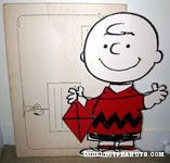 Charlie Brown holding Kite Stand-up