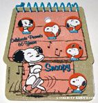60 years of Snoopy Notepad