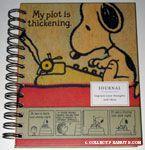 Snoopy at typewriter Vintage-look Journal