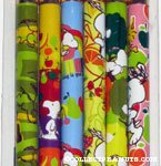 Snoopy & Woodstock fruit themed Pencils