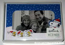 Snoopy & Woodstocks building snowmen Box of Photo Cards