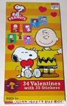 Peanuts gang dancing box of Valentines