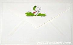 Flying Ace walking Envelope
